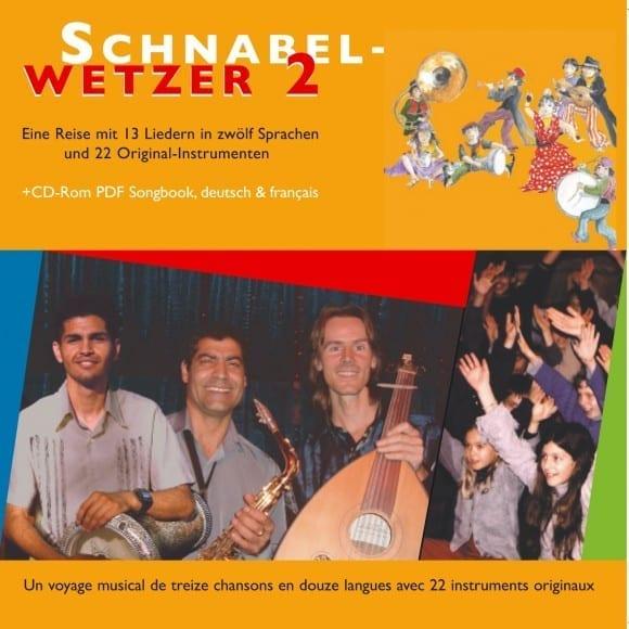 CD Schnabelwetzer – 13 Songs in 12 Sprachen