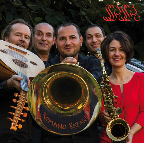 CD Ssassa cover Romano Kazani