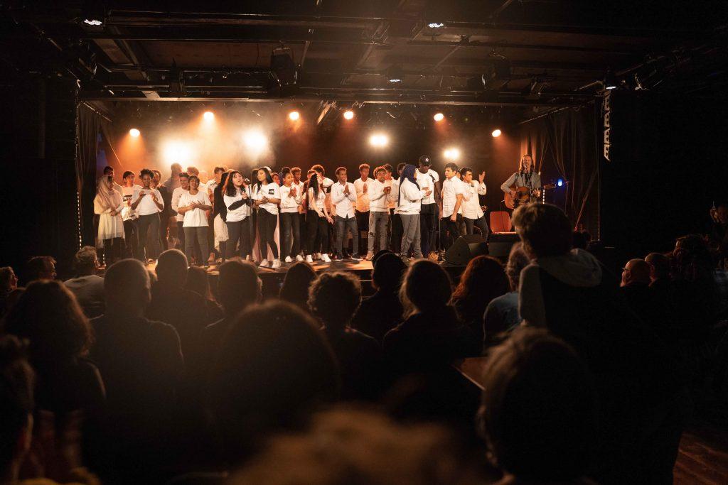 Konzert mit Ssassa und UMA-Schule Aarau im KIFF Aarau, 14.11.2019