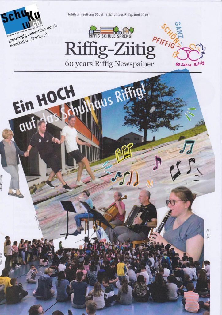 LU Emmen Riffig Projektwoche Zeitung 2019 Titel